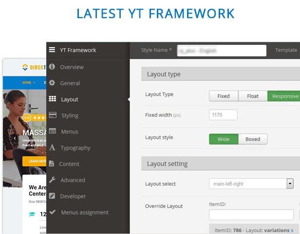 yt framework