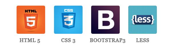 SJ LifeMag - html5, css3, bootstrap & less