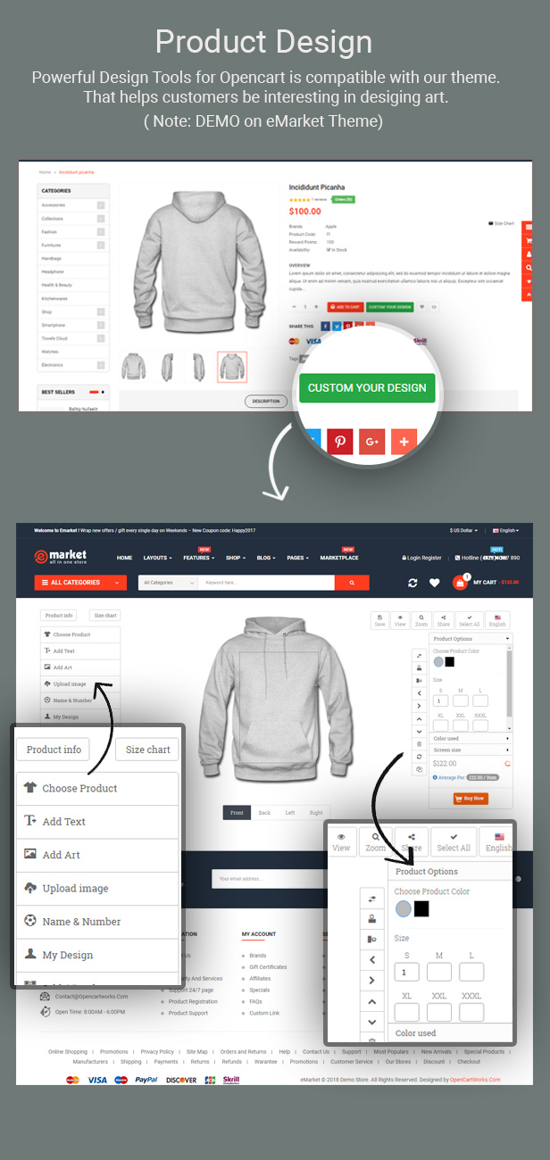 Nova - Responsive Fashion & Furniture OpenCart 3 Theme with 3 Mobile Layouts Included - 7