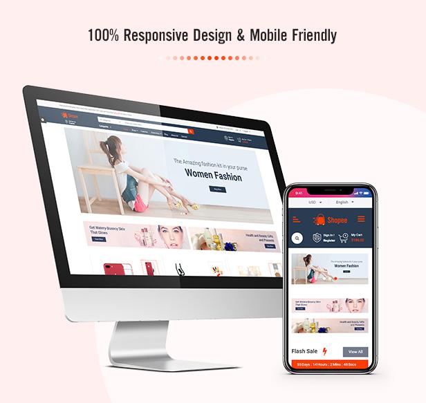 Shopee - MultiPurpose PrestaShop 1.7 Responsive Theme - 3