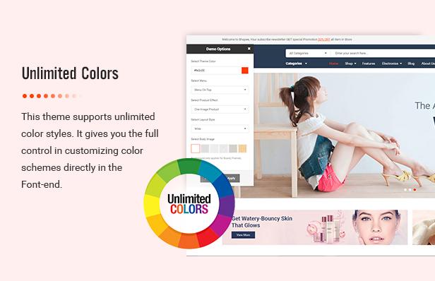 Shopee - MultiPurpose PrestaShop 1.7 Responsive Theme - 6