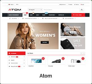 Atom - Multipurpose WordPress Theme