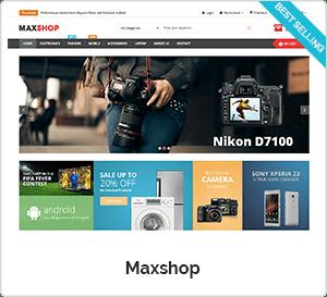 Maxshop - WooCommerce WordPress Theme