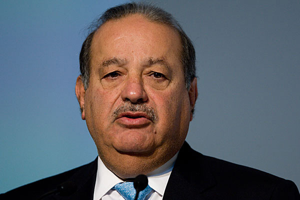 Forbes Rich List No. 1 ... Carlos Slim.