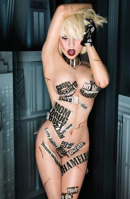 Lady Gaga courts controversy.