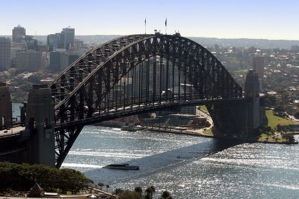 Audi has the ambitious plan of hanging four cars off the Sydney Harbour Bridge as part of a global advertising campaign.