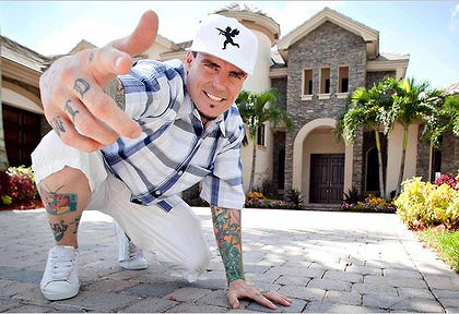 Vanilla Ice ... Would you take property advice from this man?