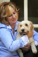 Mary Jo McVeigh and Toby.