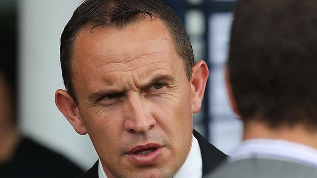 Success ... in Sydney it was Chris Waller (pictured), who is being talked about as the Tommy Smith of his era.