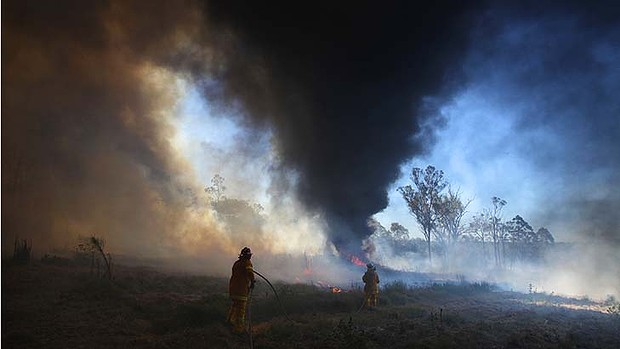 Hot under the collar ... the RFS is inviting 120 fire fighters to apply for voluntary redundancy.