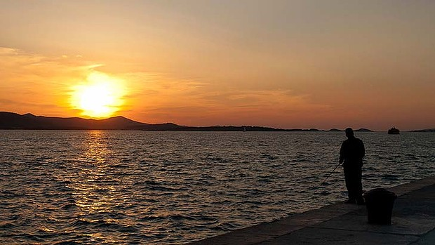 Alfred Hitchcock famously declared Zadar to have the world's best sunset.