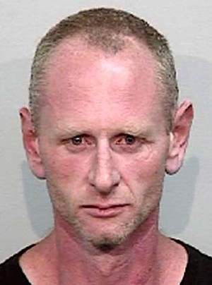 39-year-old Colin Maxwell Farrow - a person of interest in the death of 41-year-old Linda Stevens at Corrimal.