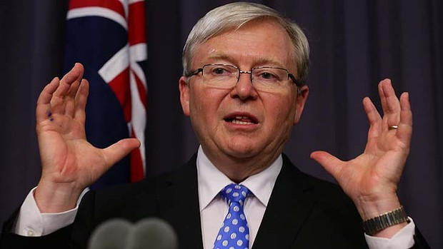 An Open Letter to Prime Minister Kevin Rudd.