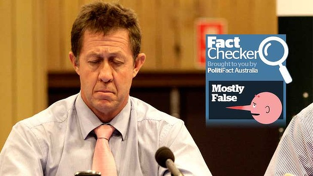 Luke Hartsuyker Fact Checker is savings levy a tax?
