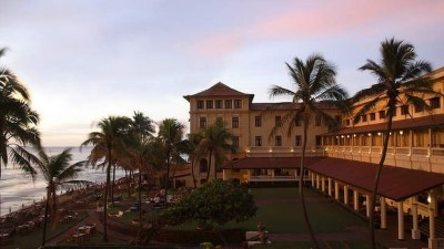Colombo classic: The historic Galle Face Hotel.