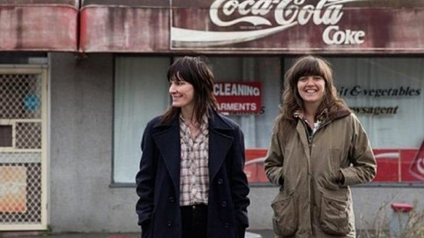 Jen Cloher (left) and Courtney Barnett admit to feeling a little nervous about taking on <i>Horses</i>.