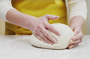 Kneading Bread Dough