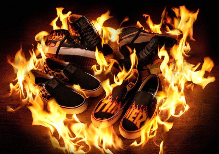 Vans x Thrasher Flame Logo Collection