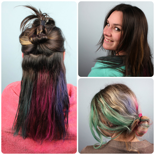hair chalk recipe and application tutorial soap queen