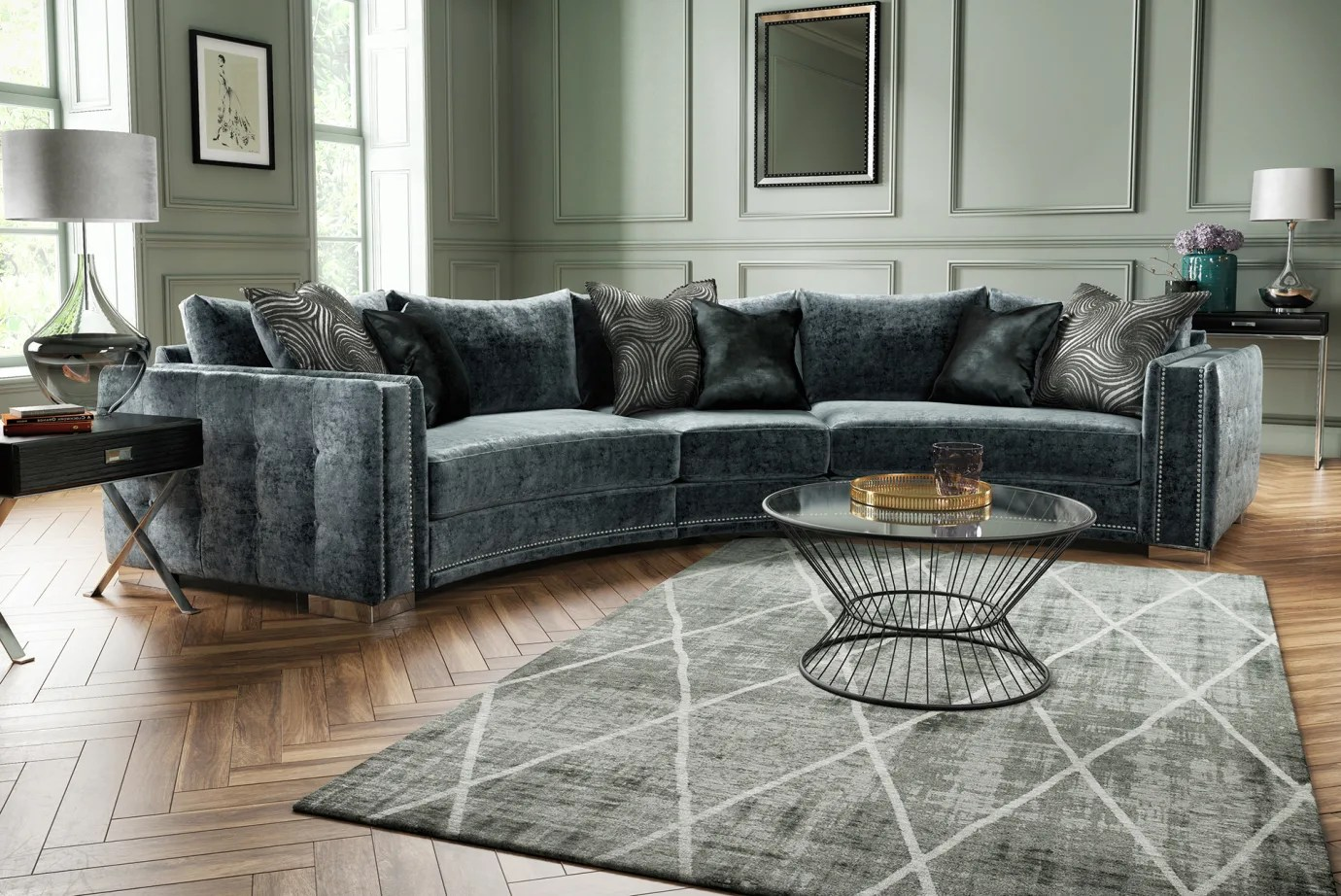 fabric sofas corner and sofabeds