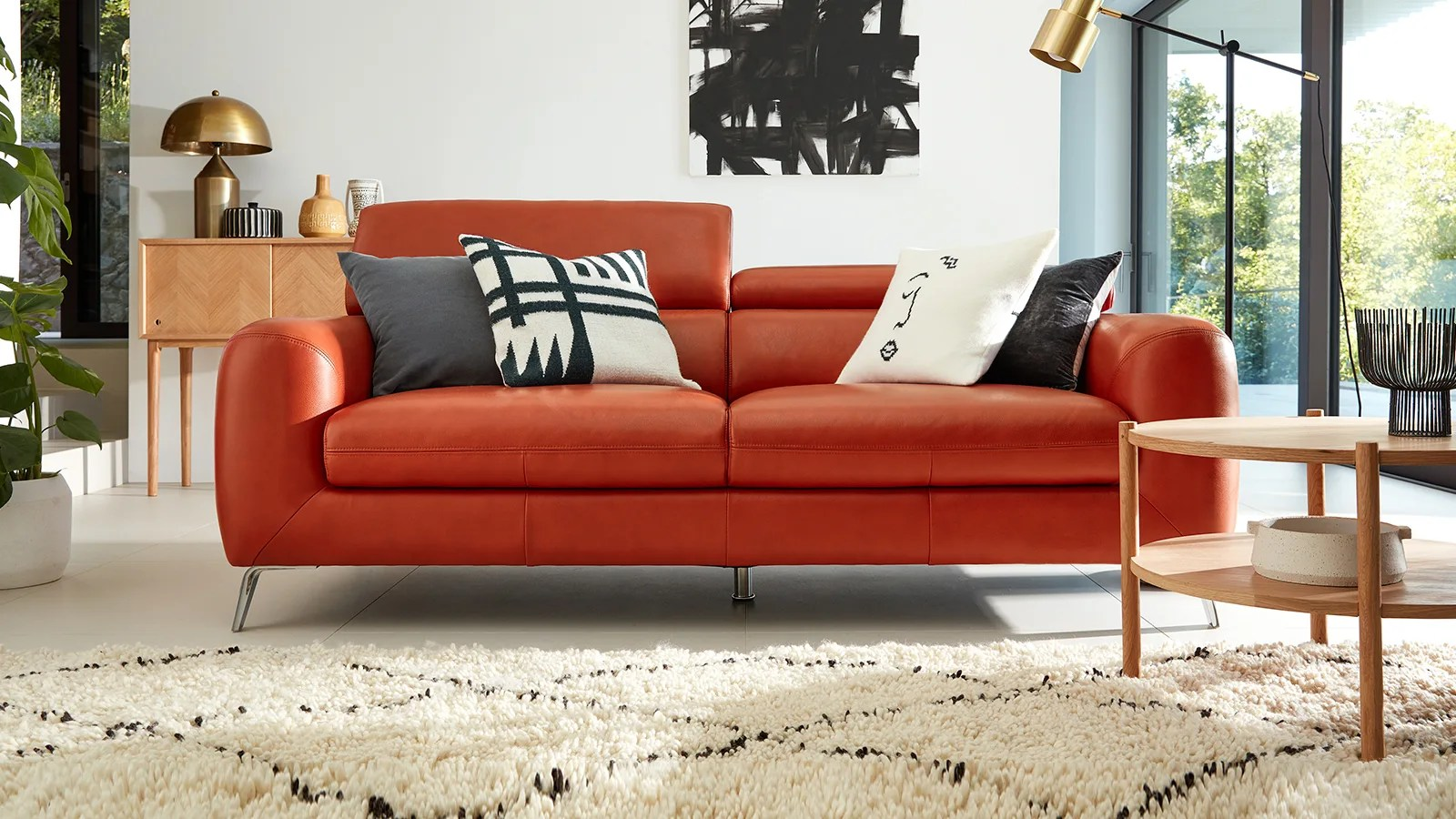 Leather Sofas Sofology