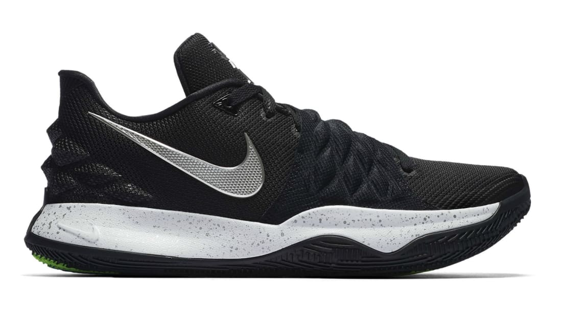 Image result for kyrie low 1 black metallic silver