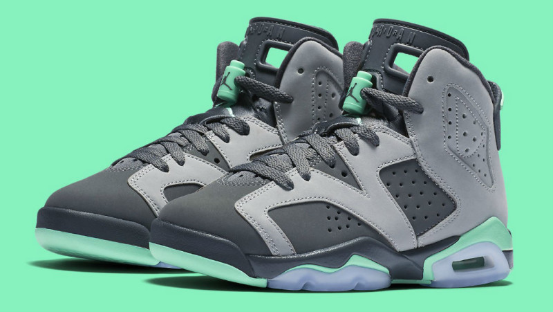 Air Jordan 6 GG Green Glow 543390-005 (1)
