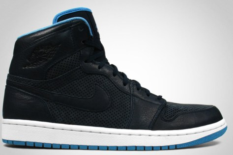 Air Jordan 1 High Retro EPM Premier Dark Obsidian Cerulean White