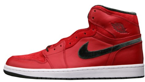 Air Jordan 1 High Retro Premier Varsity Red Dark Army White