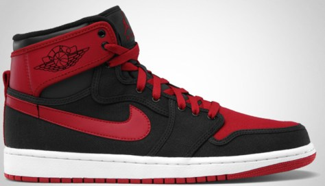 Air Jordan 1 Retro KO High Black Varsity Red White