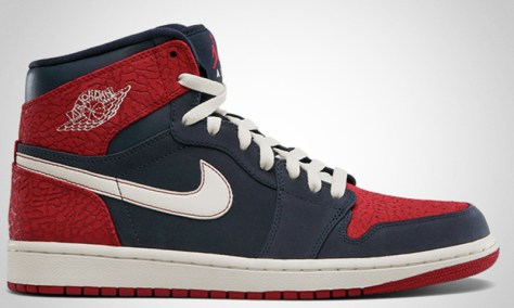 Air Jordan 1 Retro High Obsidian Gym Red Sail