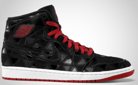 Air Jordan 1 Retro J2K High Black Varsity Red White