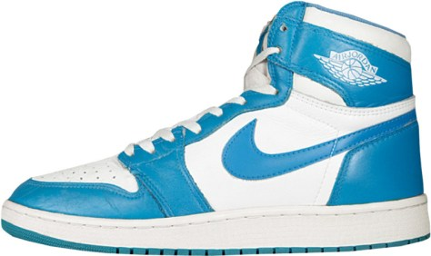 Air Jordan 1 High OG White Dark Powder Blue