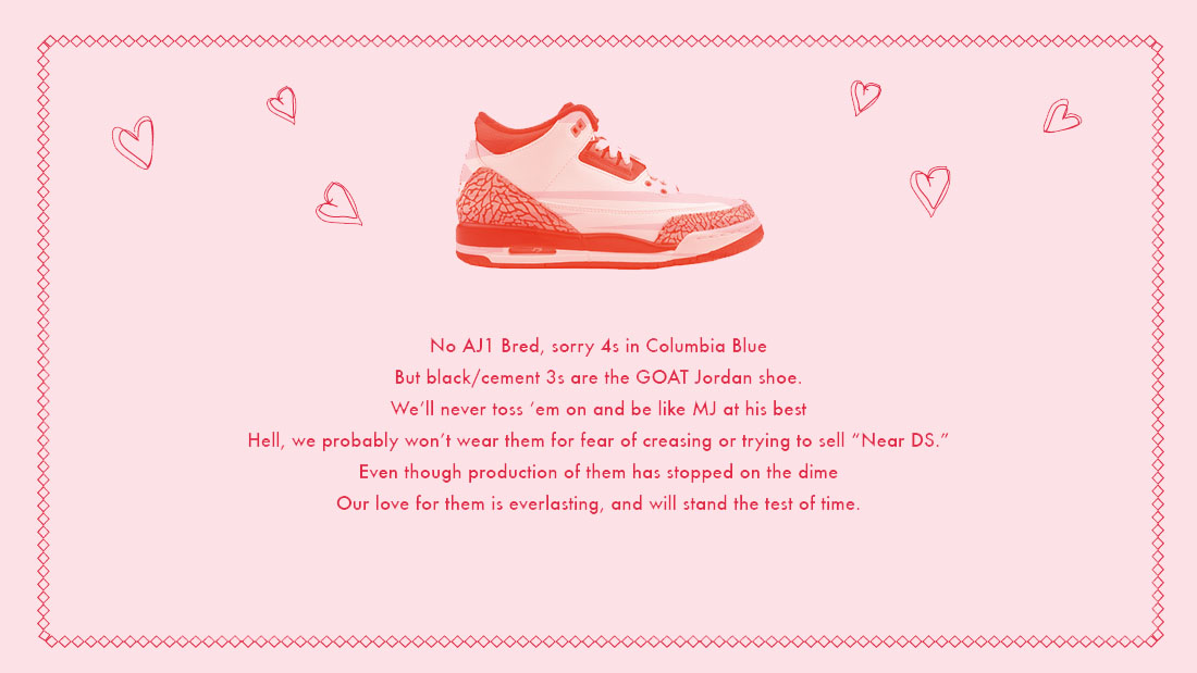Love Letters To Our Favorite Sneakers Sole Collector