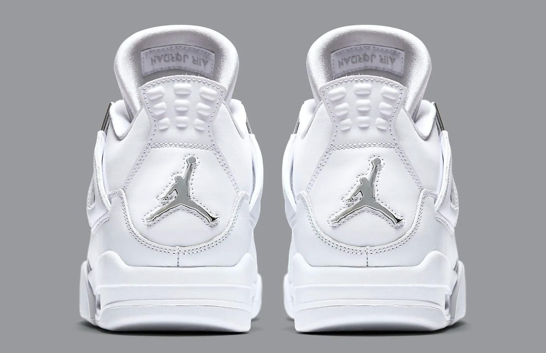 Puro dinero Air Jordan 4 308497-100 talón