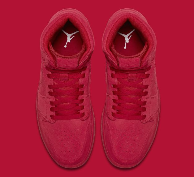Air Jordan 1 High Red Suede Release Date Top 332550-603