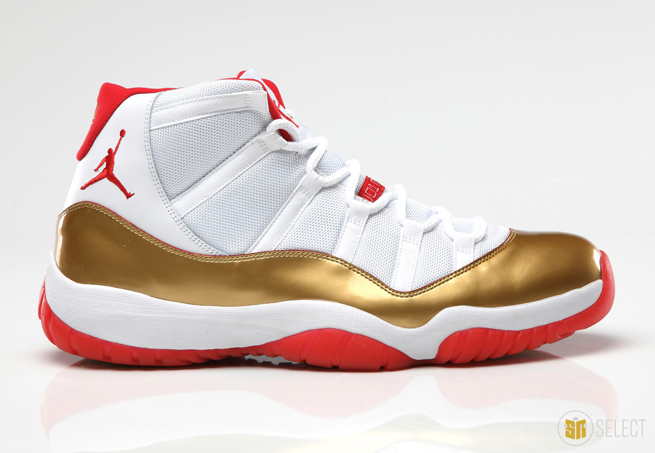 Jordan Gold Allen 11 Ray