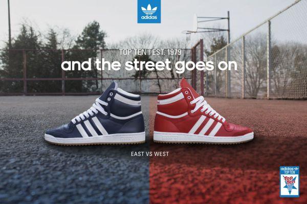 adidas Originals Top Ten 'East vs. West' All Star Pack ...