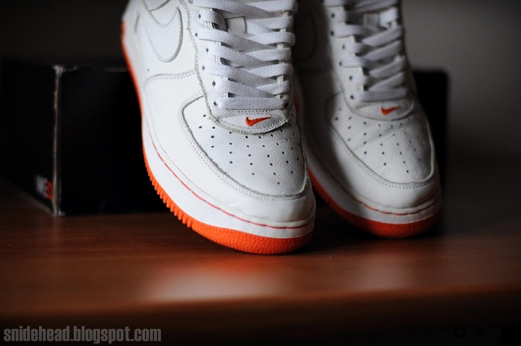 Sole 1 Gum Nike Force Air
