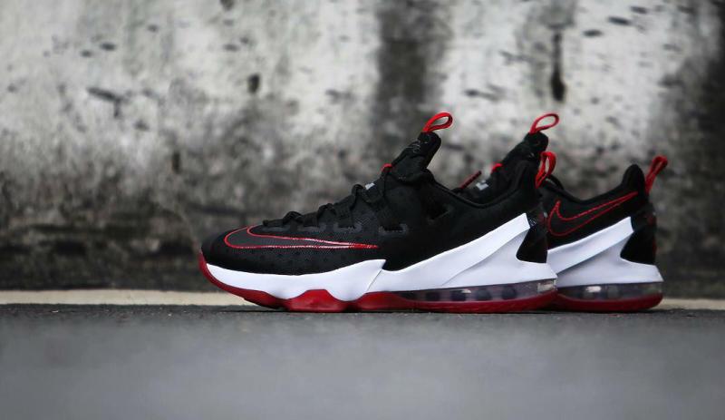 Nike LeBron 13 Low Black/Red (6)