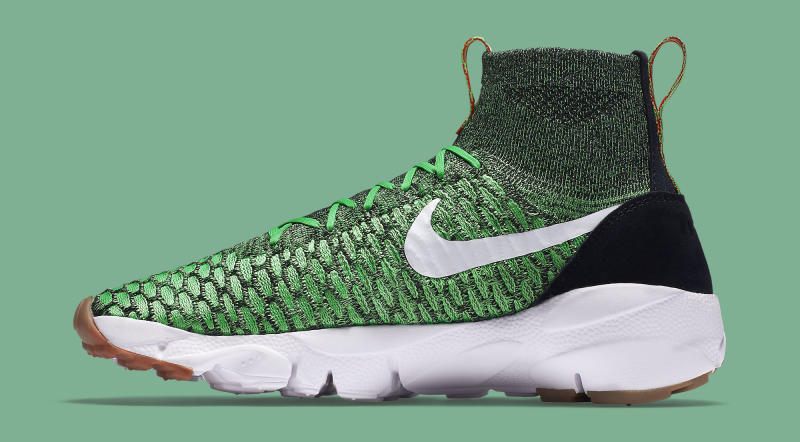 Nike Footscape Magistas In a Green Colorway whatarethose