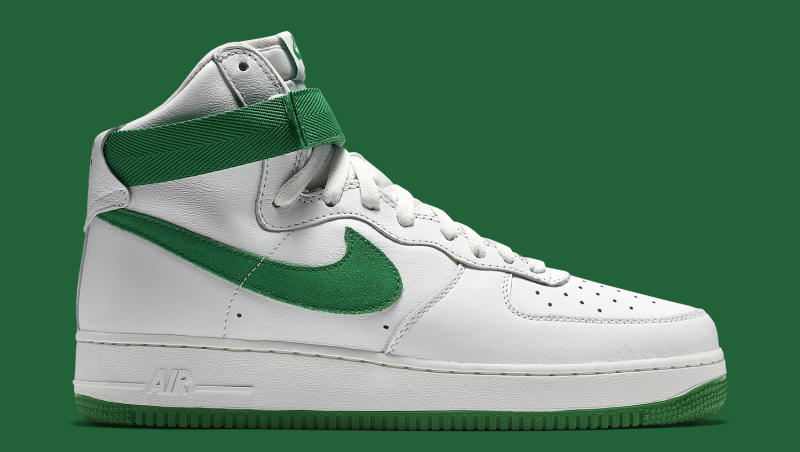 Nike Air Force 1 OG White Green Sole Collector