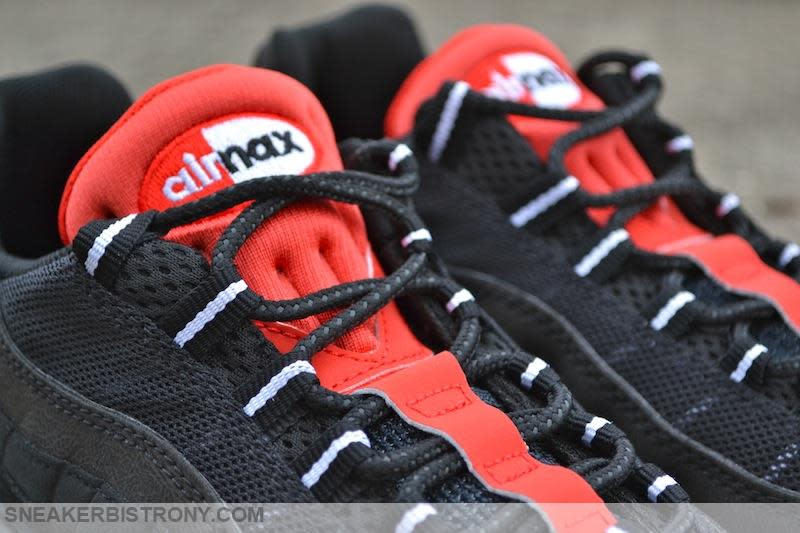 Nike Air Max 95 Essential Black/Challenge Red (2)