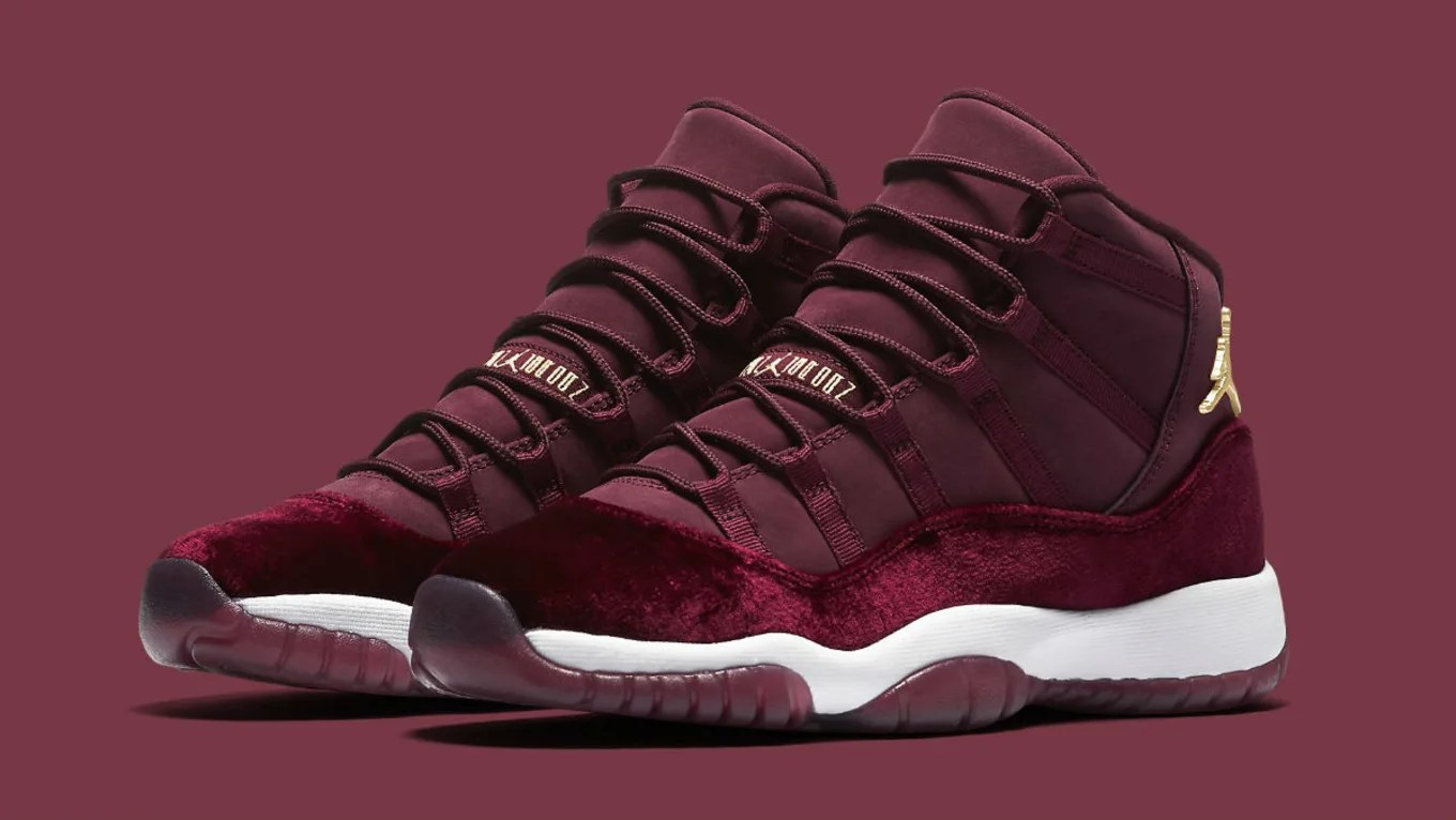 air jordan 11 velvet sole collector