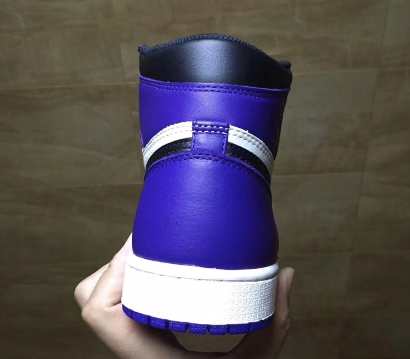 Air Jordan 1 Court Purple Release Date Sole Collector