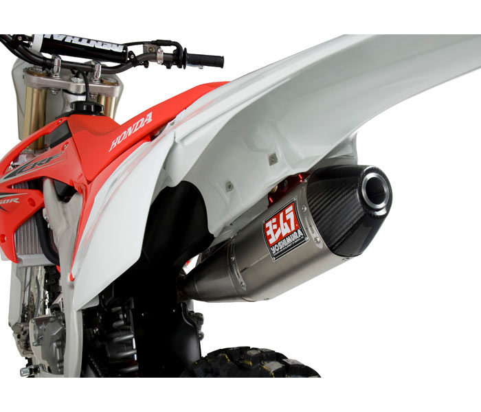 yoshimura rs 4 competition series exhaust for crf250r 11 13