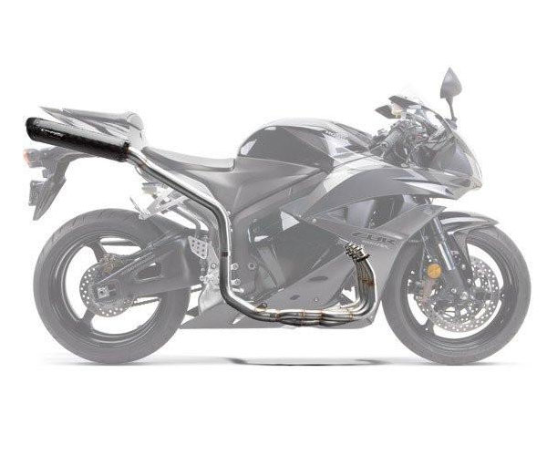 two brothers m2 black full exhaust for cbr600rr 07 12