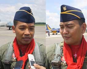 PENDIDIKAN PENERBANG  Dua Penerbang Lulus Solo Flight T50i Golden Eagle di Adi Soemarmo
