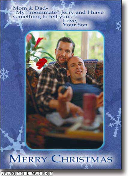 Inappropriate Holiday Cards