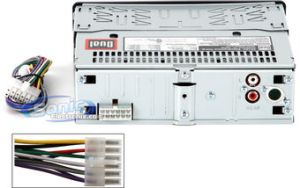 Dual CP5250 InDash AMFM, CD, MP3 Car Stereo Receiver w USB & 612